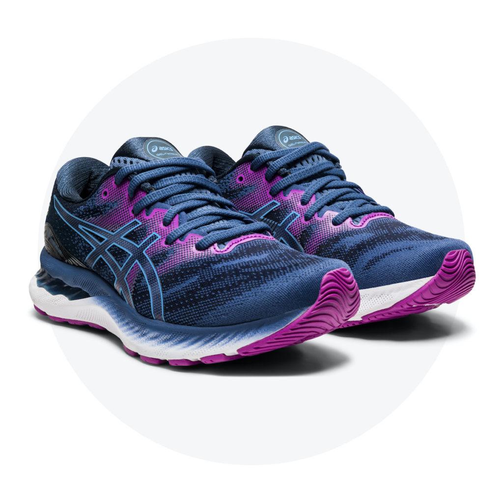 ASICS Gel Nimbus 23 Pink Purple
