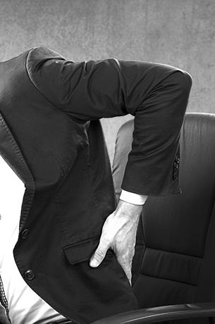 Rückenschmerzen am Arbeitsplatz vorbeugen?